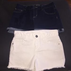 2 pair of justice shorts